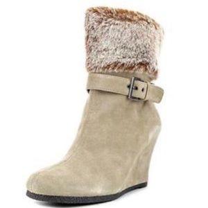 Aerosoles | Telltale Boots Faux Fur Size 9